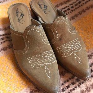 Patricia Nash Battista slip-on mules